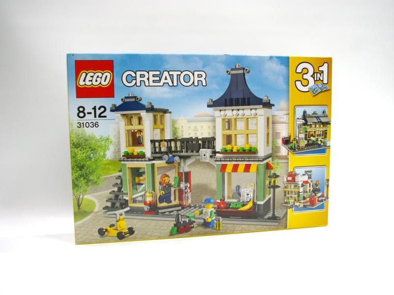 #31036 レゴ おもちゃ屋と町の小さなお店