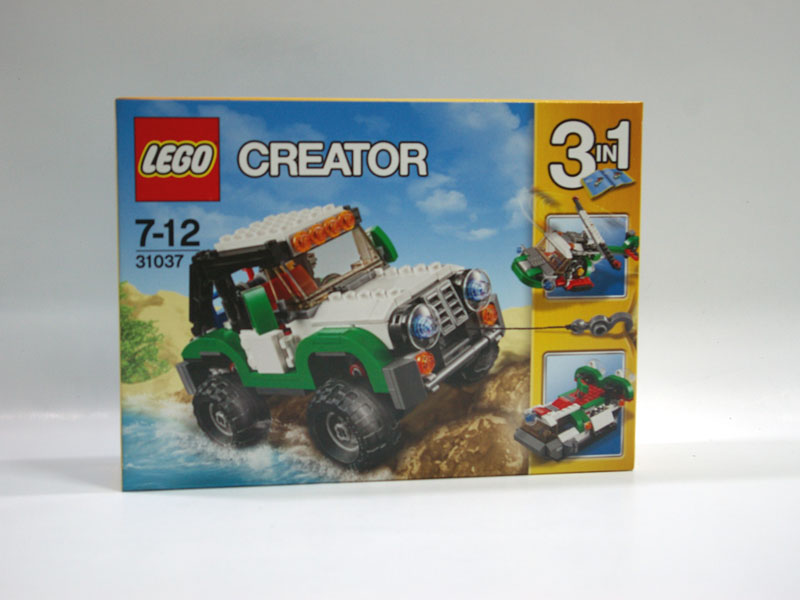 #31037 レゴ オフロードカー