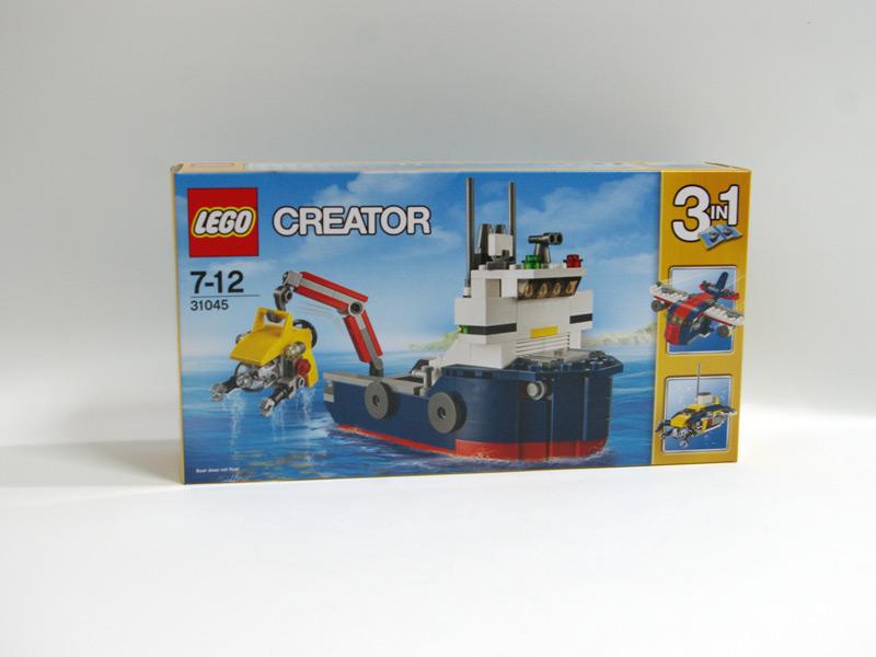 #31045 レゴ 海洋調査船