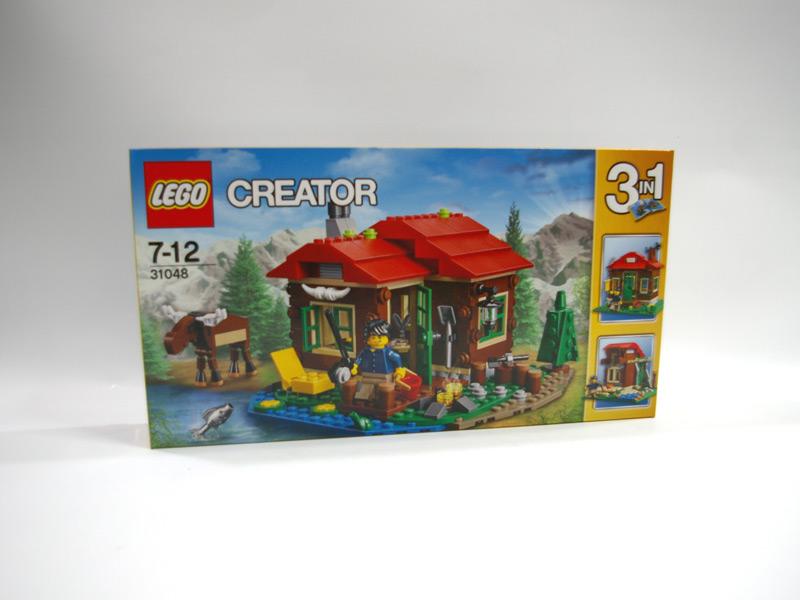 #31048 レゴ 湖岸のロッジ
