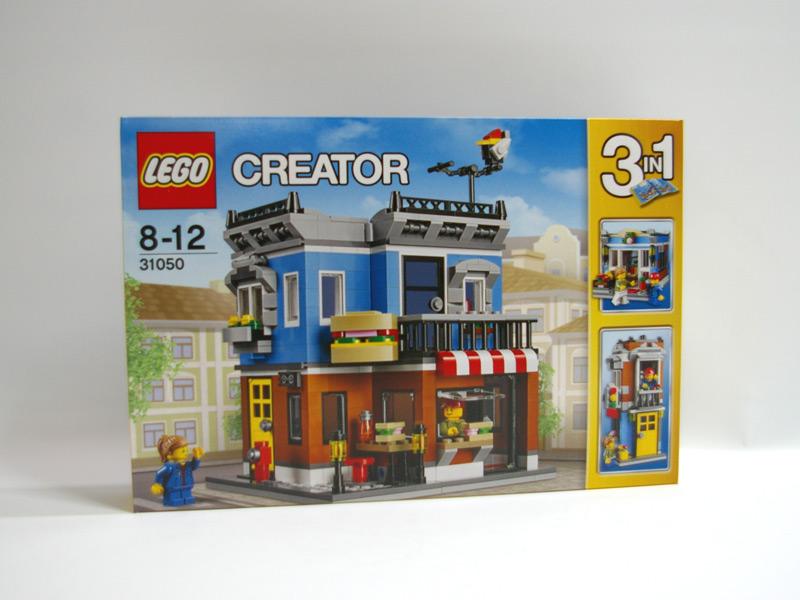 #31050 レゴ 街角のデリ