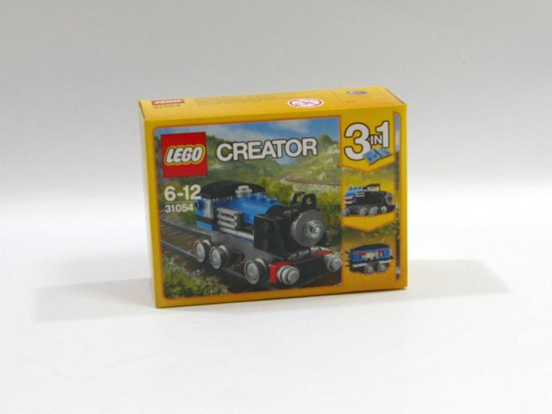 #31054 レゴ 青い汽車