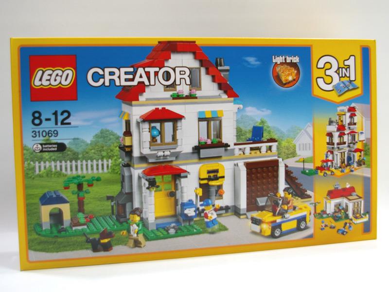 #31069 レゴ ファミリーコテージ