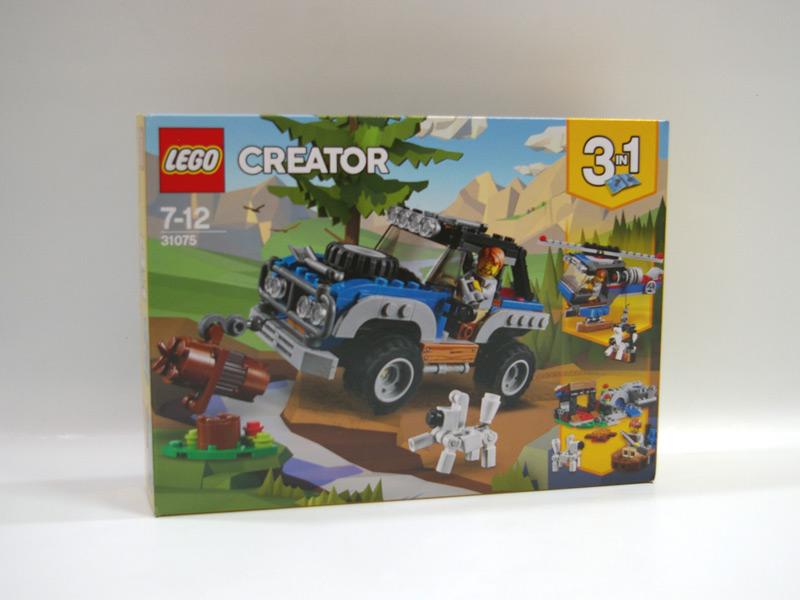 #31075 レゴ 青いオフローダー