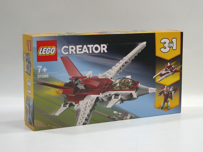 #31086 レゴ スーパージェット機