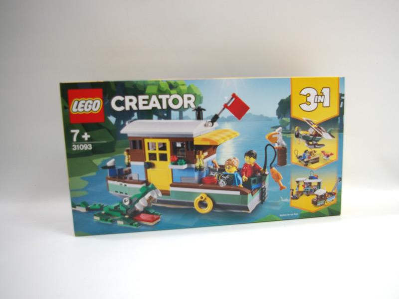 #31093 レゴ リバーサイド・ハウスボート