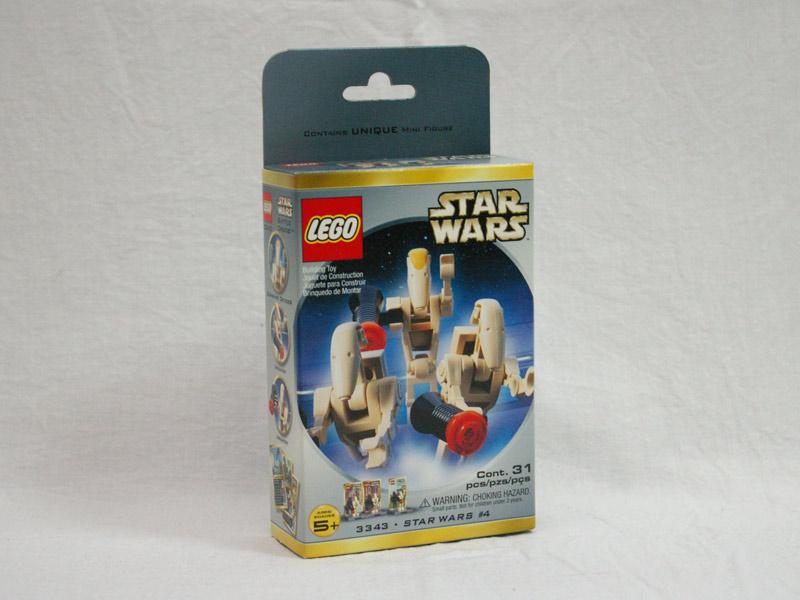 #3343 レゴ バトルドロイド ミニフィグパック