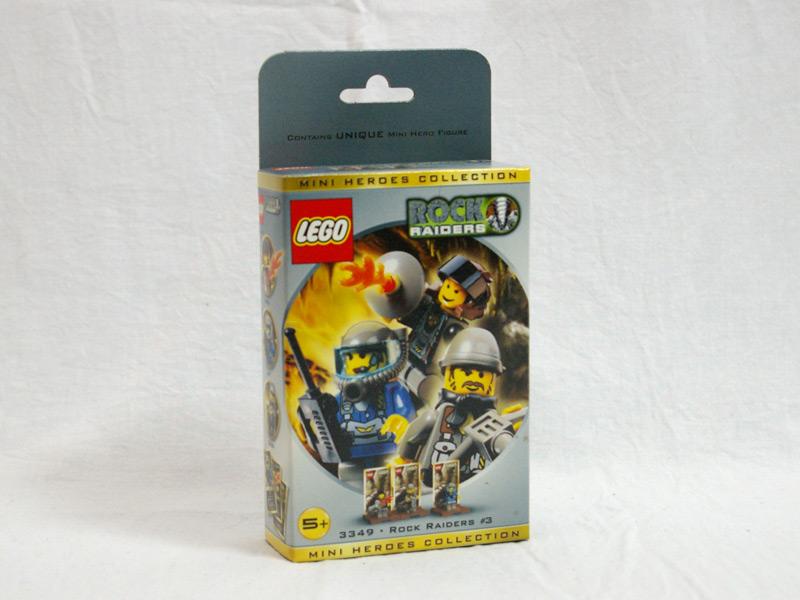 #3349 レゴ ロックレイダーズミニフィグセット