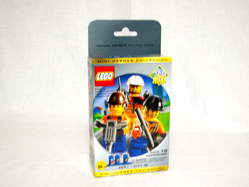 #3351 レゴ 工事現場の人々