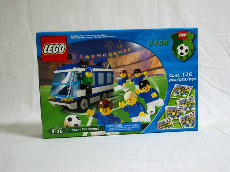 #3406 レゴ ナショナルチーム・バス