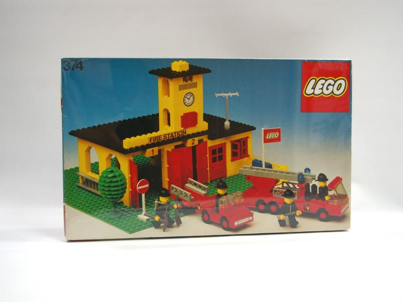 #374 レゴ 消防署