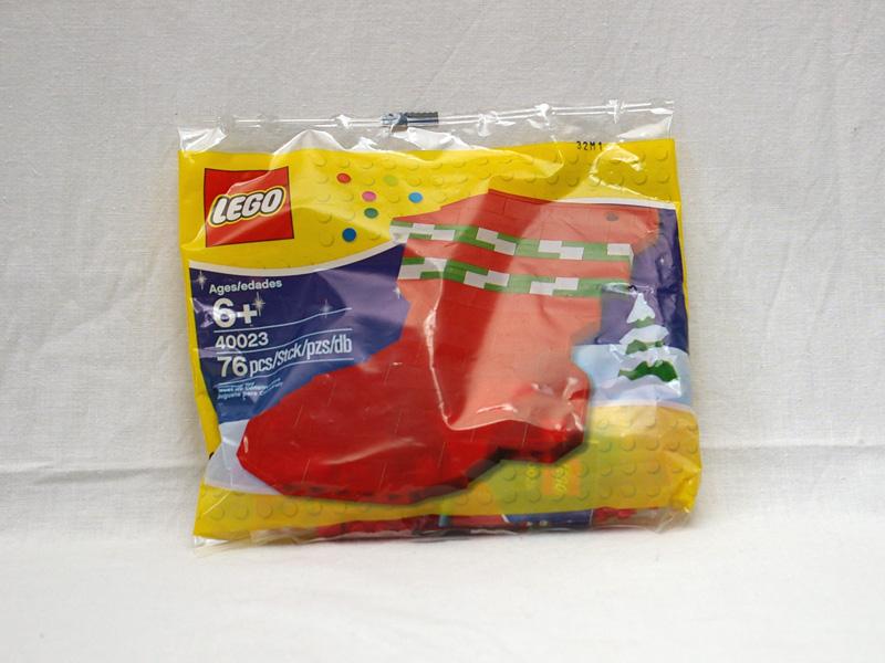 #40023 レゴ クリスマスの靴下