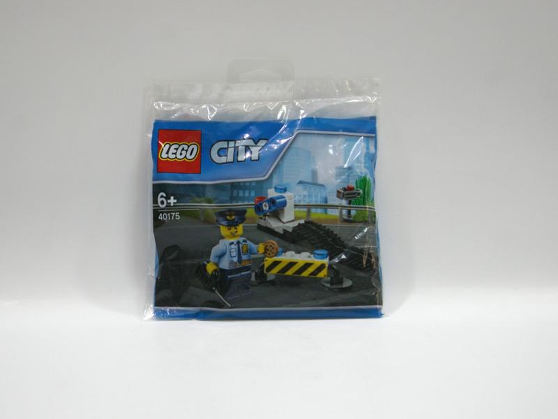 #40175 レゴ スピード違反の取り締まり