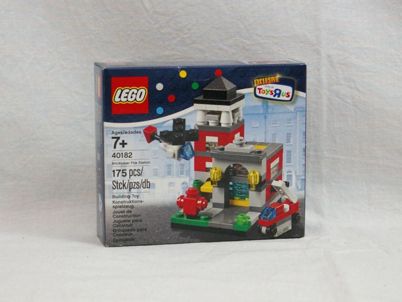 #40182 レゴ ミニモジュール 消防署