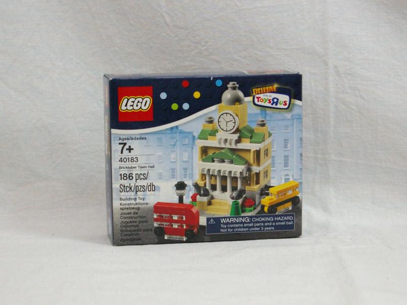 #40183 レゴ ミニモジュールタウンホール