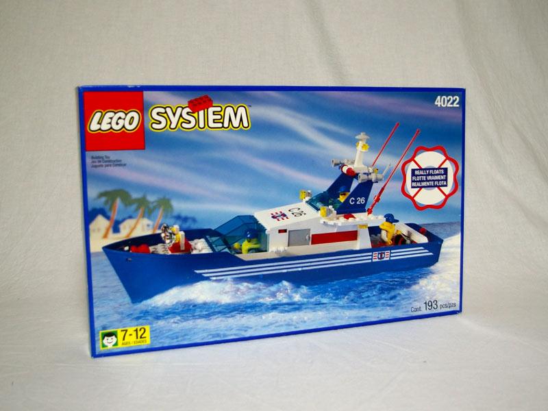 #4022 レゴ コースガード高速艇