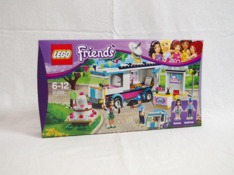#41056 レゴ ハートレイクテレビクルー