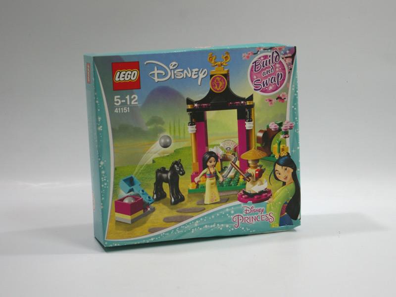 #41151 レゴ ムーラン 寺院と剣
