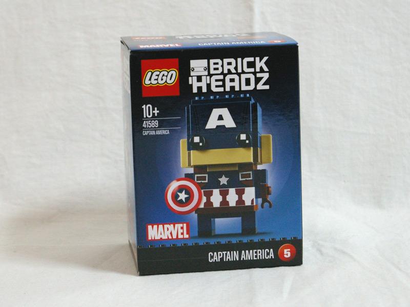 #41589 レゴ ブリックヘッズ キャプテン・アメリカ