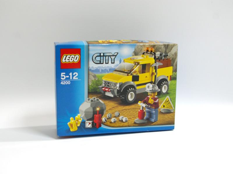 #4200 レゴ 4WDダイナマイトキャリア