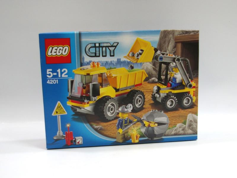#4201 レゴ ダンプカーとローダー