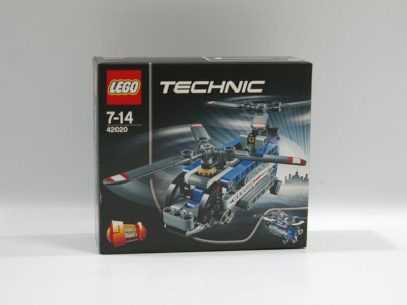 #42020 レゴ ツインローターヘリコプター
