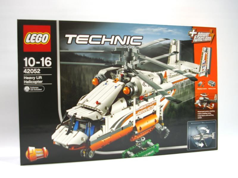 #42052 レゴ ヘビーリフト ヘリコプター