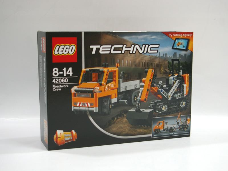 #42060 レゴ 道路工事トラック & ショベルカー