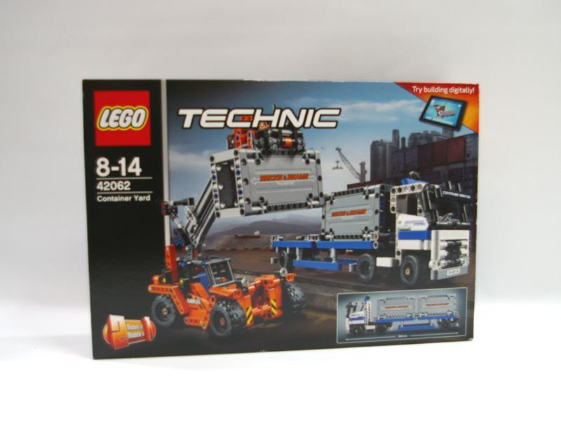 #42062 レゴ コンテナトラック & ローダー