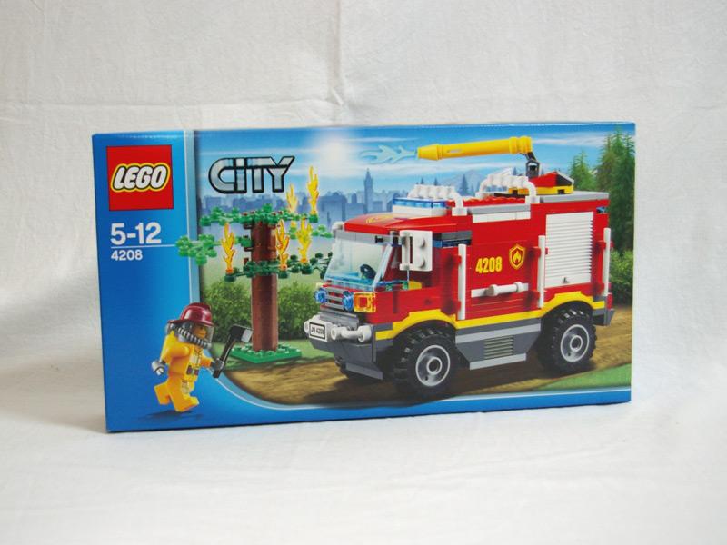 #4208 レゴ フォレストファイヤー4WDトラック