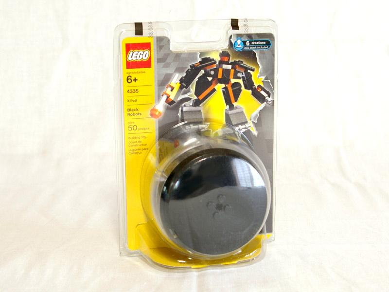 #4335 レゴ 黒いロボットポッド