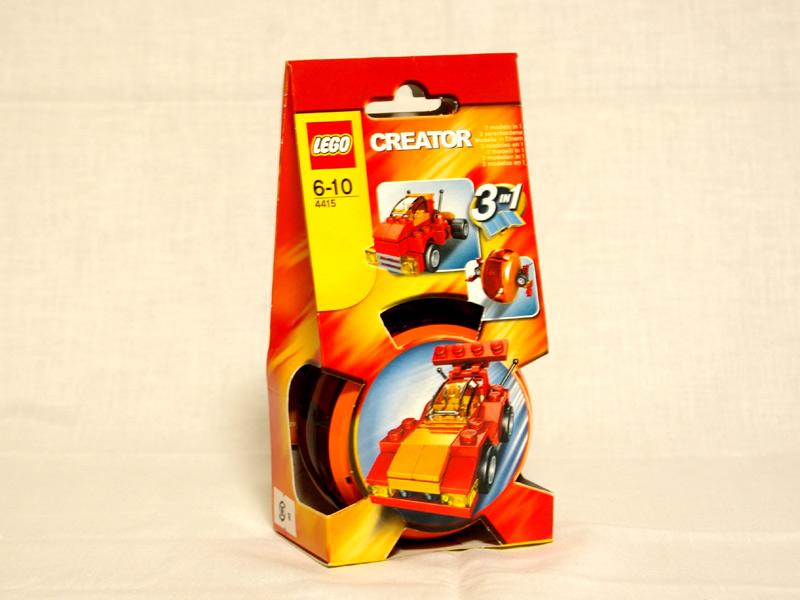 #4415 レゴ 自動車ポッド