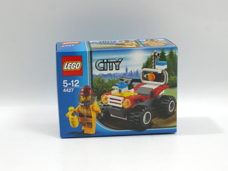 #4427 レゴ フォレストファイヤーバギー