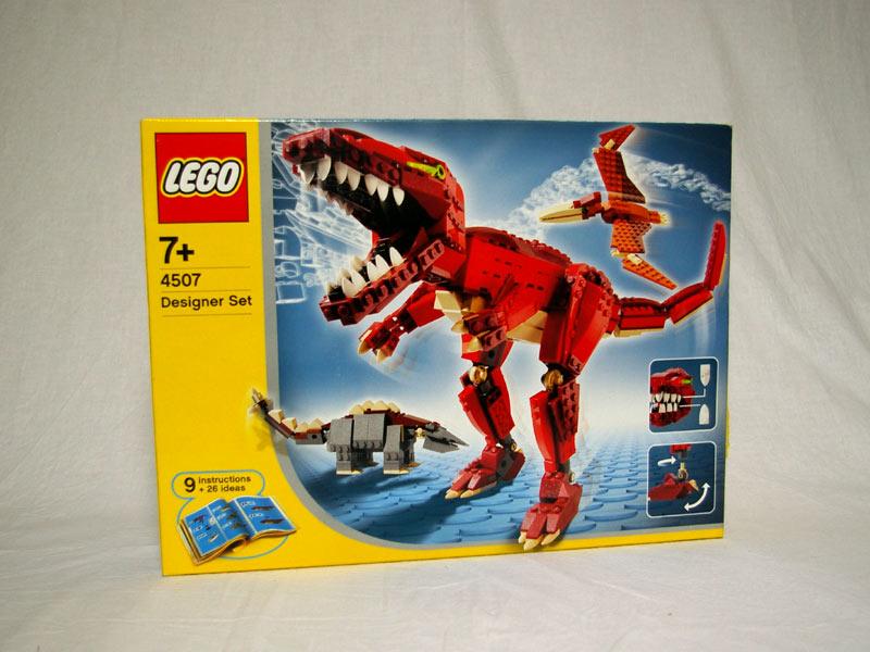 #4507 レゴ 恐竜デザイナー