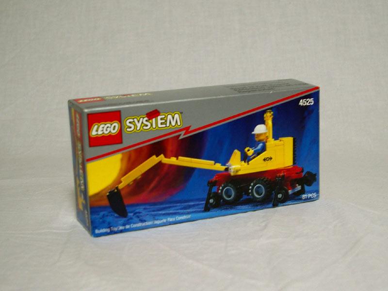 #4525 レゴ 鉄道補修車