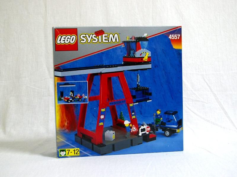#4557 レゴ コンテナクレーン