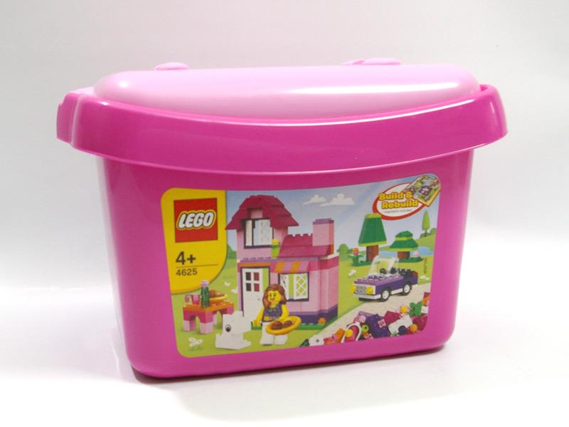 #4625 レゴ ピンクのコンテナ