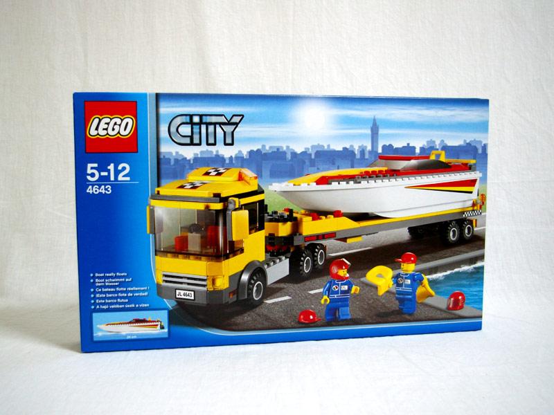 #4643 レゴ パワーボート・キャリアカー