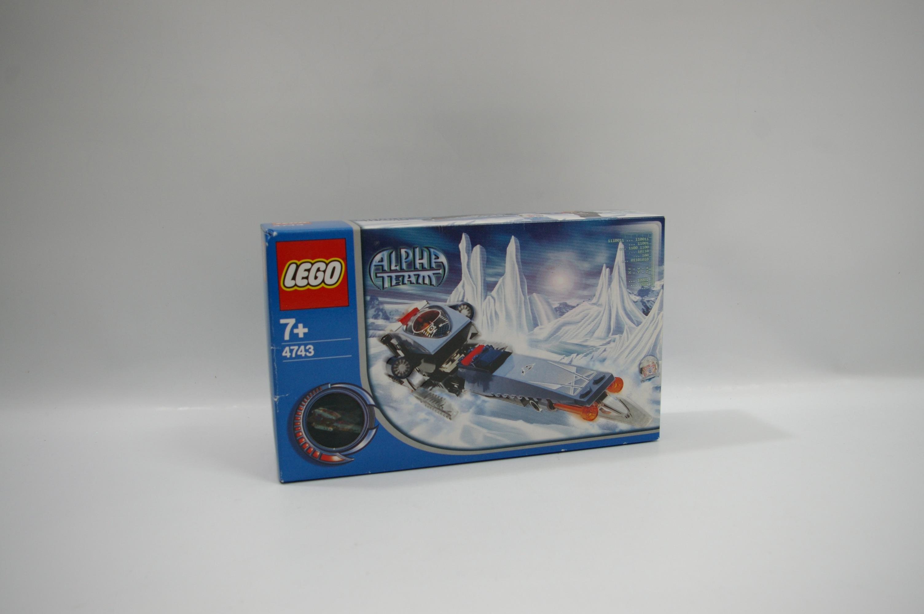 #4743 レゴ 氷上パトロール