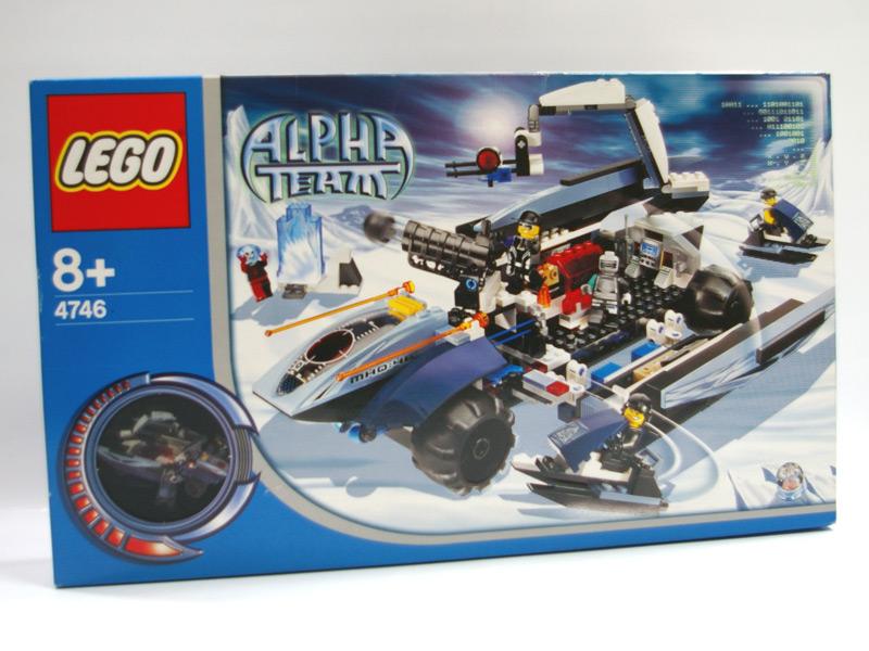 #4746 レゴ 移動指令基地