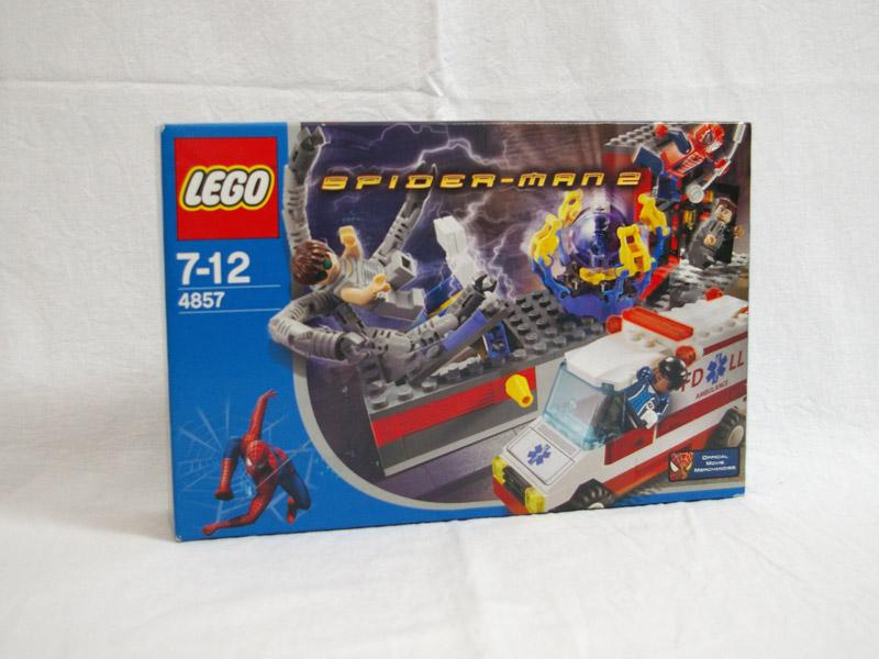 #4857 レゴ  ドック・オクの実験室