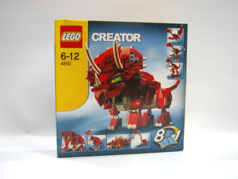 #4892 レゴ トリケラトプス