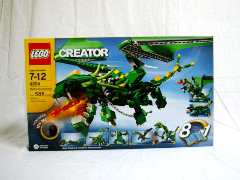 #4894 レゴ グリーンドラゴン