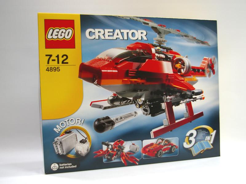 #4895 レゴ ヘリコプター