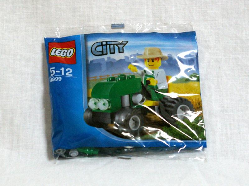 #4899 レゴ 小型トラクター