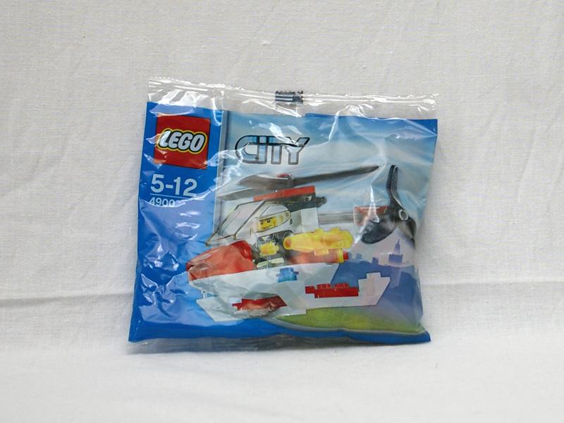 #4900 レゴ ファイヤー・ヘリコプター