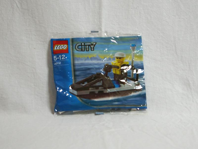 #4912 レゴ ポリスジェットスキー
