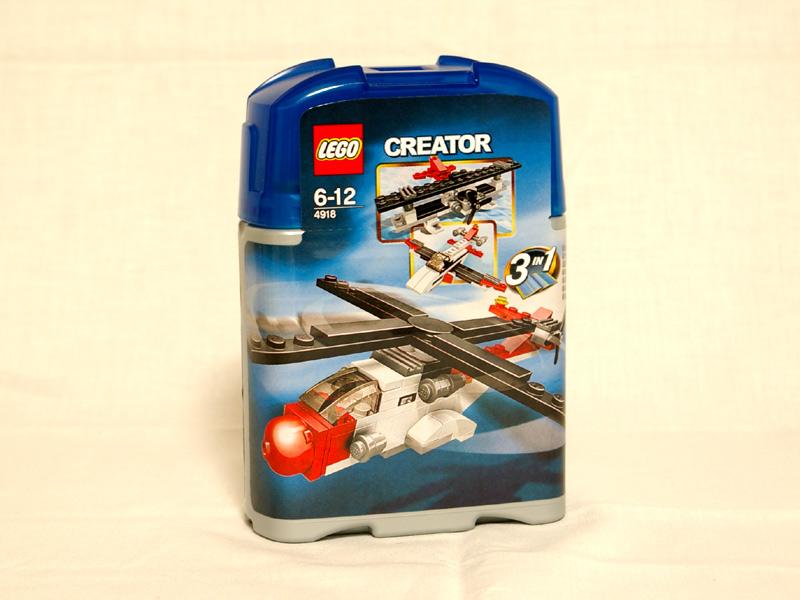 #4918 レゴ ミニ飛行機