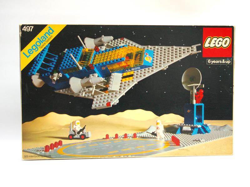 #497 レゴ 大型宇宙船