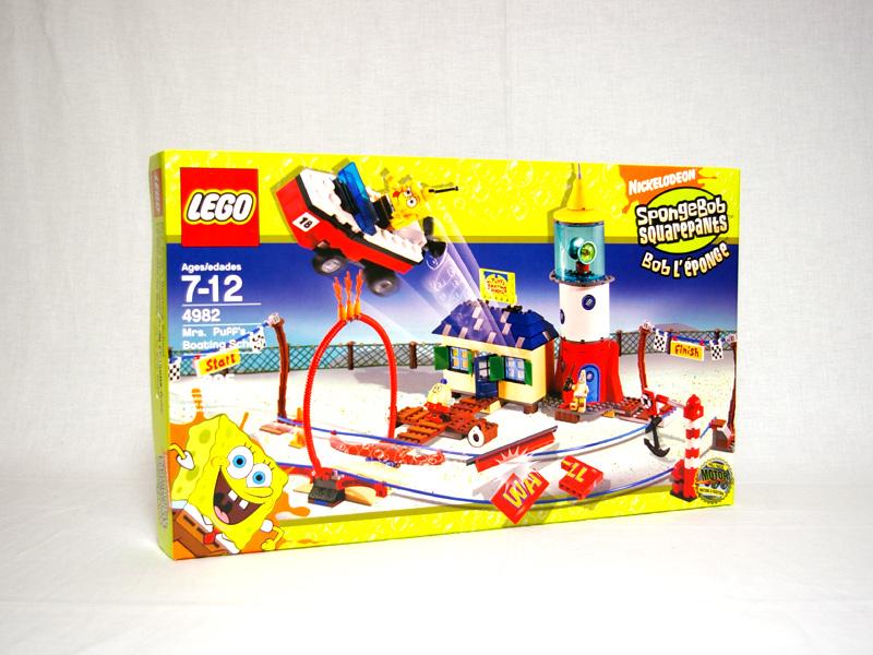 #4982 レゴ パフ先生のボートスクール